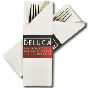 airlaid napkins cutlery sleeves